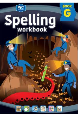 Spelling Workbook - Book G: Ages 11-12