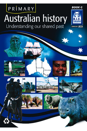 Primary Australian History - Book G: Ages 11-12