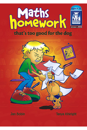 Maths Homework that's too Good for the Dog - Ages 8-10