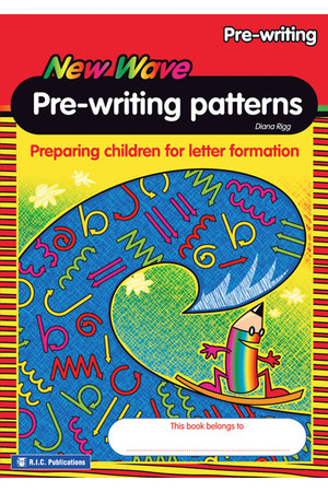 New Wave Pre-writing Patterns - Activity Book