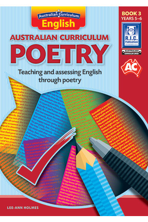 Australian Curriculum Poetry - Book 3: Upper Primary