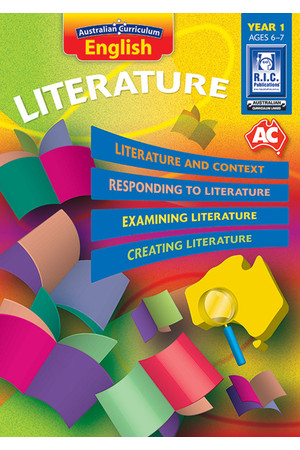 Australian Curriculum English - Literature: Year 1