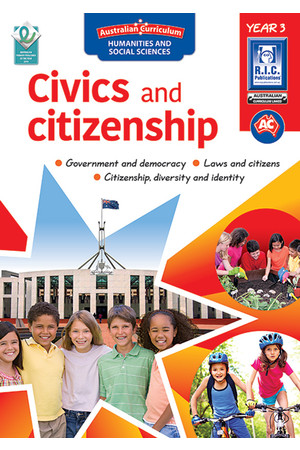 Australian Curriculum Civics and Citizenship – Year 3