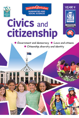 Australian Curriculum Civics and Citizenship – Year 4