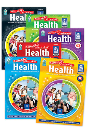 Australian Curriculum Health - Book Pack