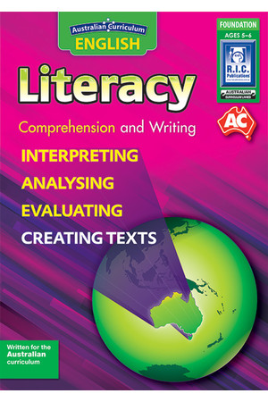 Australian Curriculum English - Literacy: Comprehension and Writing (Foundation)