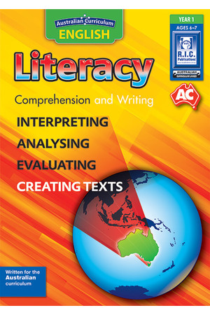 Australian Curriculum English - Literacy: Comprehension and Writing (Year 1)
