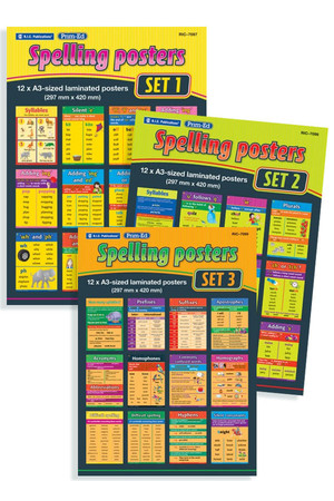 Spelling Posters Pack