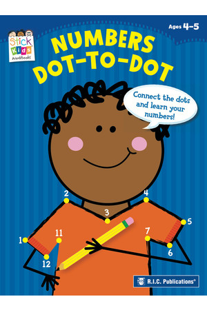 Stick Kids Maths - Ages 4-5: Numbers Dot-to-Dot