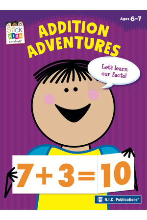 Stick Kids Maths - Ages 6-7: Addition Adventures