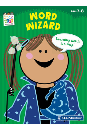Stick Kids English - Ages 7-8: Word Wizard
