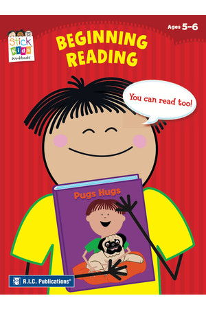Stick Kids English - Ages 5-6: Beginning Reading