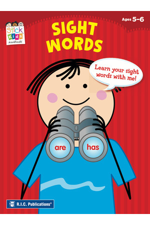 Stick Kids English - Ages 5-6: Sight Words