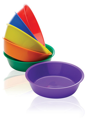 Sponge and Sorting Bowls