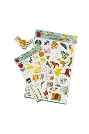 Alphabet Stickers - A3 Size