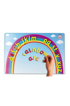 Magnetic Rainbow Arc - Cursive