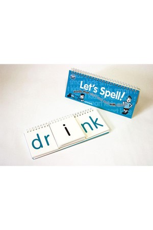 Let's Spell Flip Book - Start and End with a Blend