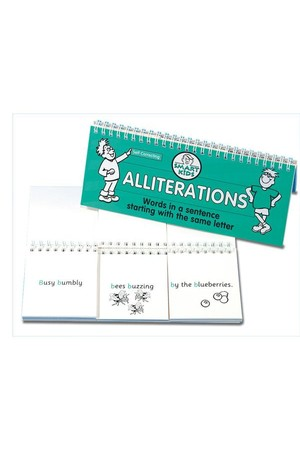 Alliterations Flip Book