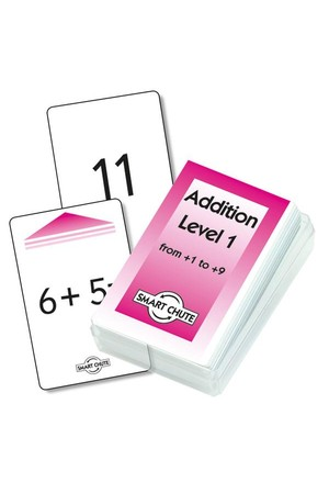 Addition Facts – Chute Cards