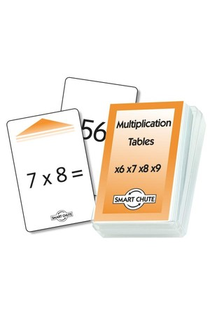 Multiplication (x6 – x9) – Chute Cards