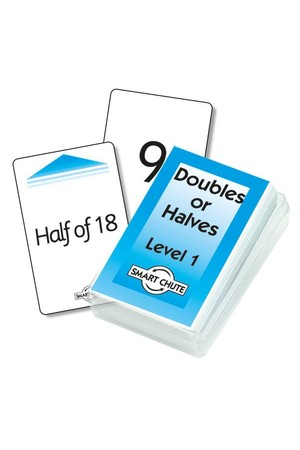 Double / Halves Cards (Level 1) – Chute Cards