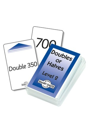 Double / Halves Cards (Level 2) – Chute Cards