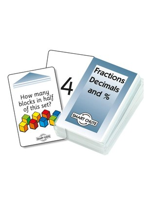 Fractions, Decimals, Percentages – Chute Cards