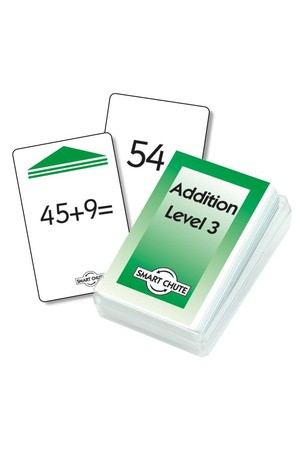 Addition Facts (Level 3) – Chute Cards