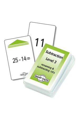 Subtraction Facts (Level 3) – Chute Cards