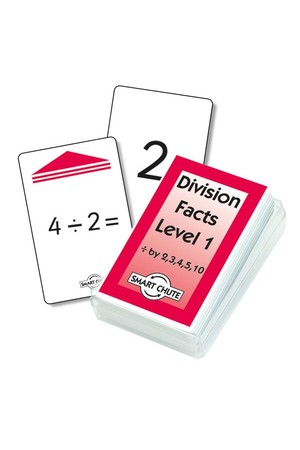 Division Facts (Level 1) – Chute Cards