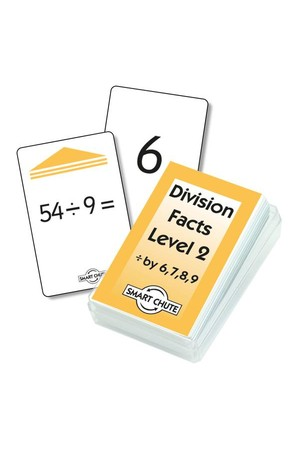 Division Facts (Level 2) – Chute Cards