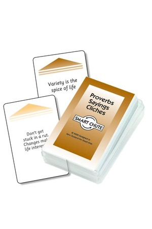 Proverbs, Saying and Cliches – Chute Cards