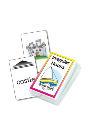 Irregular Nouns – Chute Cards