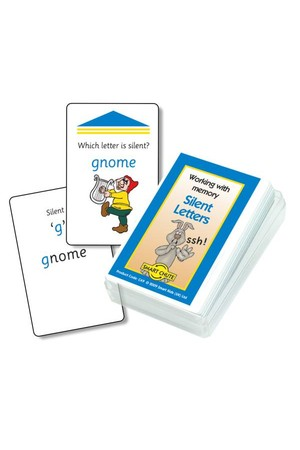 Silent Letters – Chute Cards