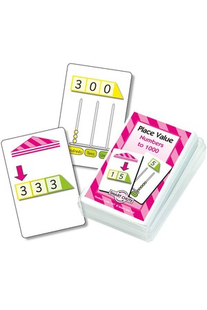 Place Value Level 1 – Chute Cards