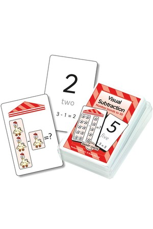 Visual Subtraction - Chute Cards