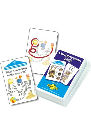 Concentration Skills (Level 2) - Chute Cards