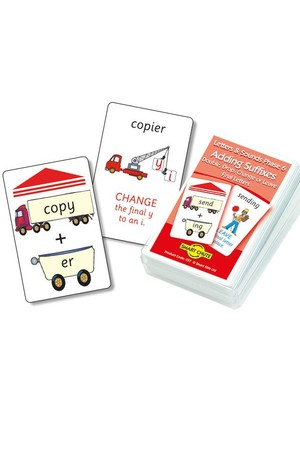 Adding Suffixes – Chute Cards