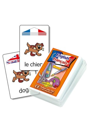 French Noun – Chute Cards
