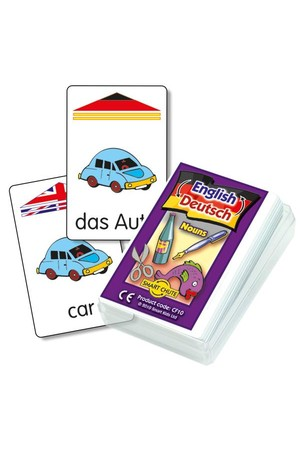 German Noun – Chute Cards