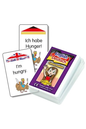 German Conversation – Chute Cards