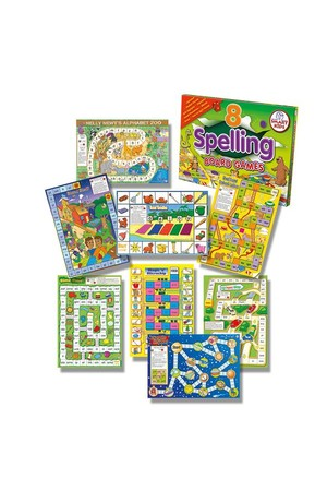 Spelling Board Games (Level 1) – 8 Games
