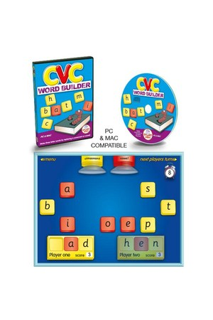 CVC Word Builder CD-ROM – 5 User Licence