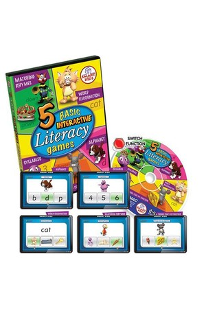 5 Basic Literacy Games CD-ROM – Single User Licence