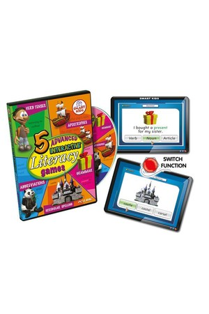 5 Advanced Literacy Games CD-ROM – Multi-User Licence