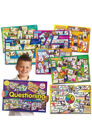 Questioning Skills Board Games – 7 Games