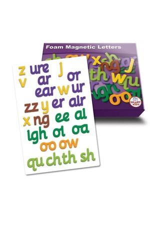 Magnetic Foam Letters – Phase 3 (Letters and Sounds)