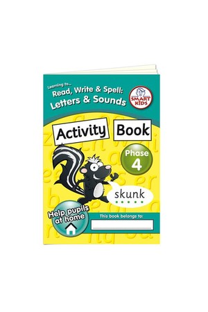 Activity Book – Phase 4 (Letters and Sounds)