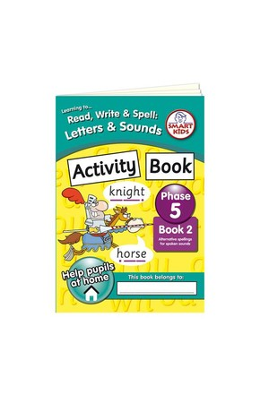 Activity Book 2 – Phase 5 (Letters and Sounds)