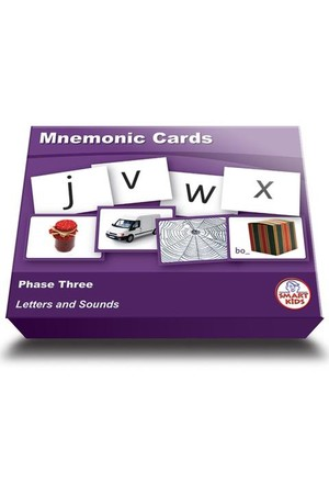 Mnemonic Cards - Phase 3 (Letters and Sounds)